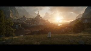 Lord of the Rings cgi Amazon Prime